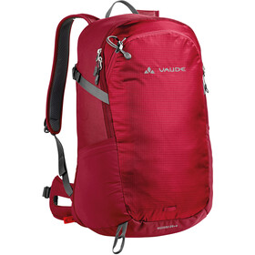 VAUDE Wizard 24+4 Mochila, indian red